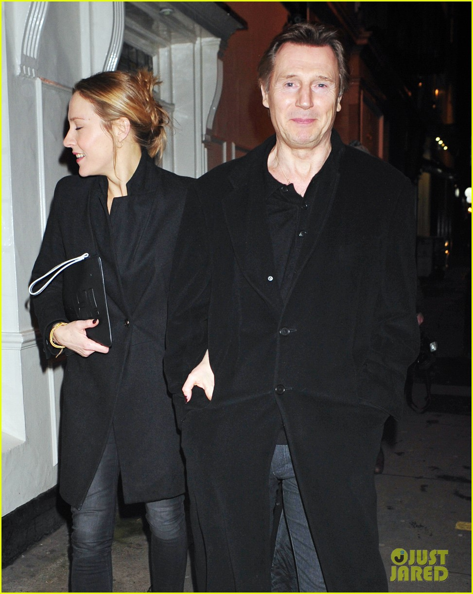 liam neeson girlfriend freya st johnston date night in london 033044850