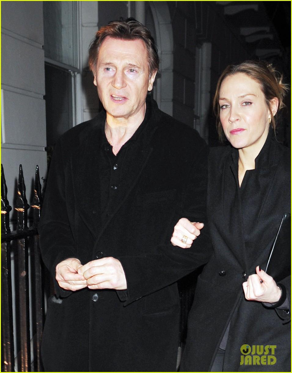 liam neeson girlfriend freya st johnston date night in london 043044851