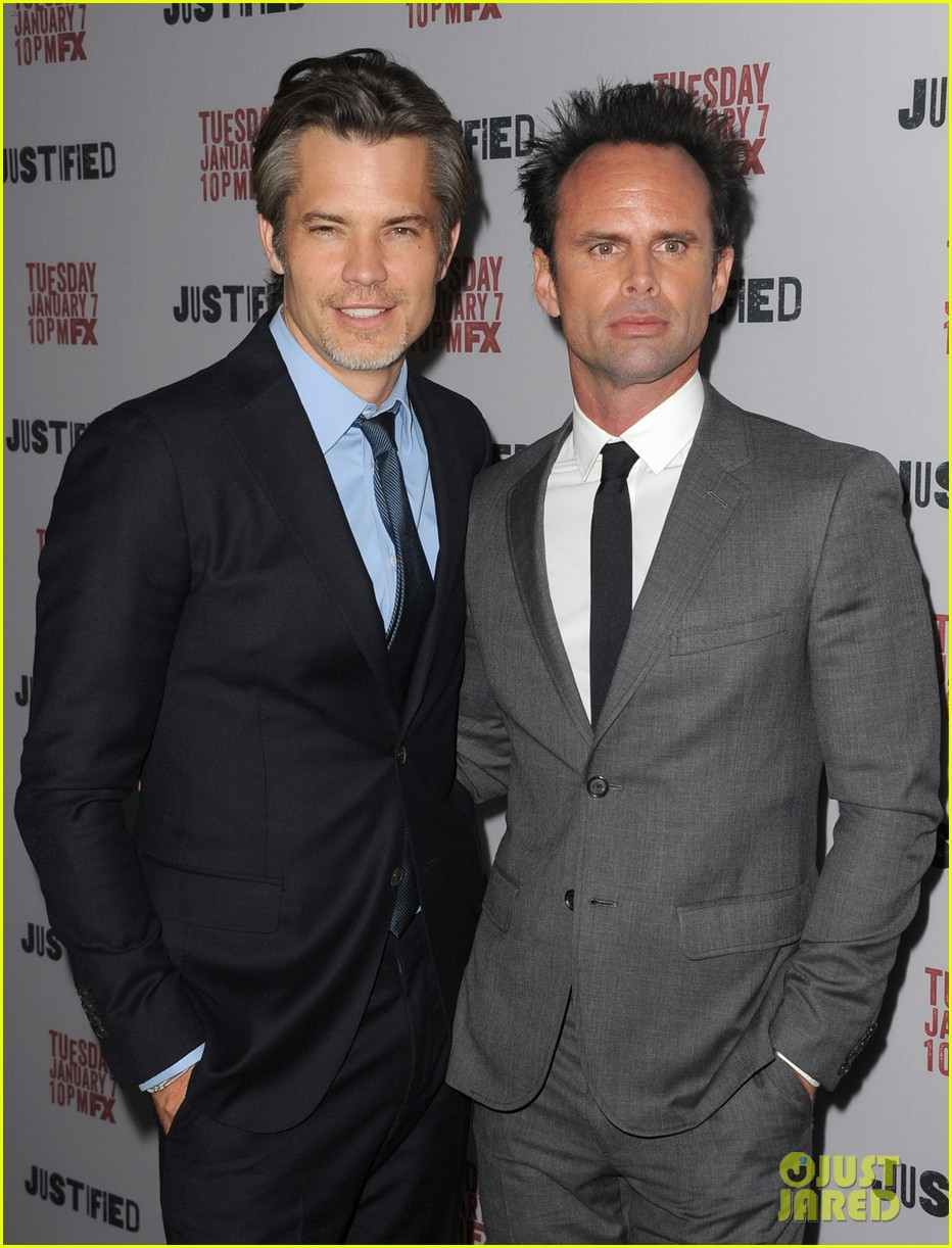 timothy olyphant joelle carter justified season 5 premiere 203024308