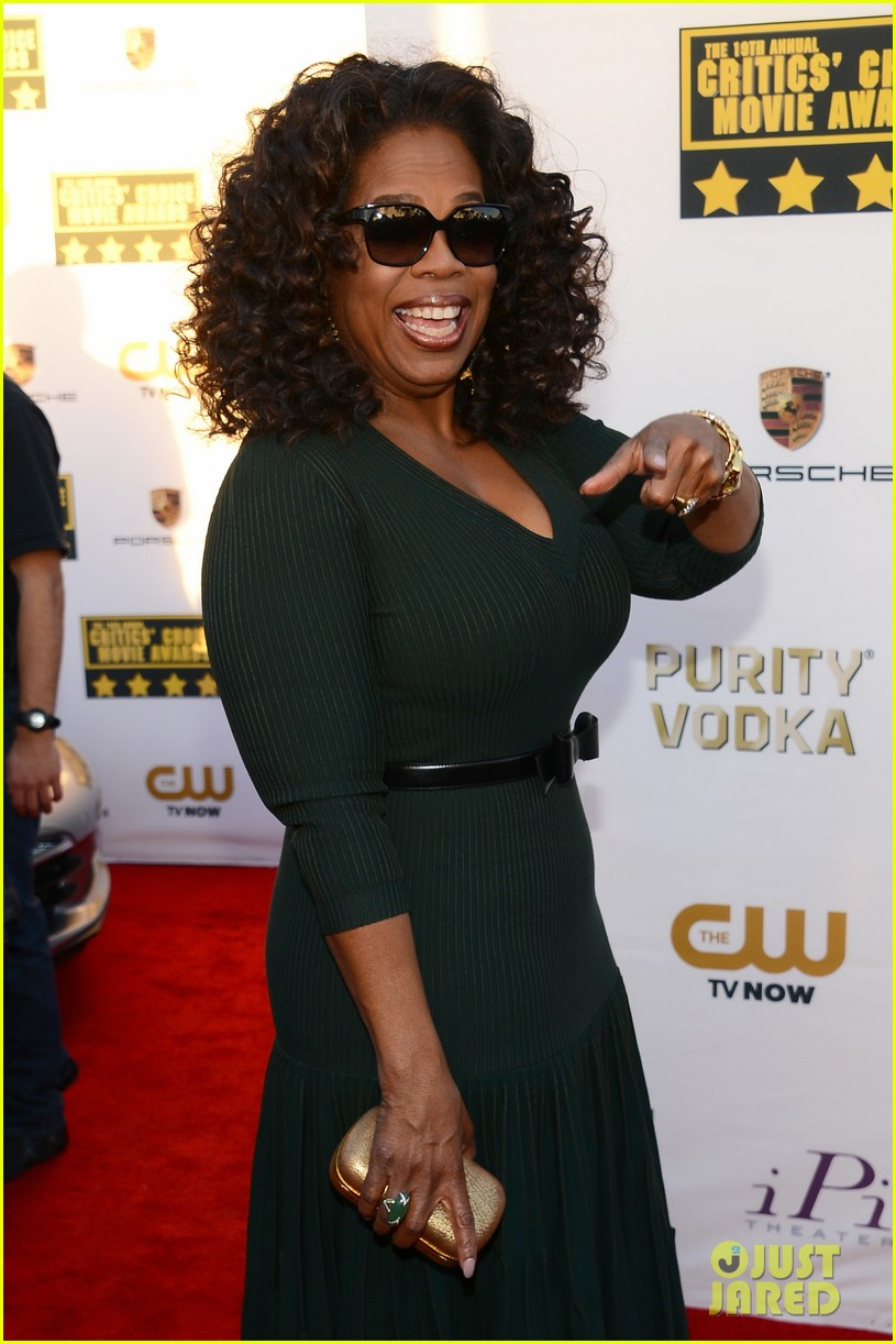 Oprah Winfrey - Critics' Choice Movie Awards 2014 Red ...