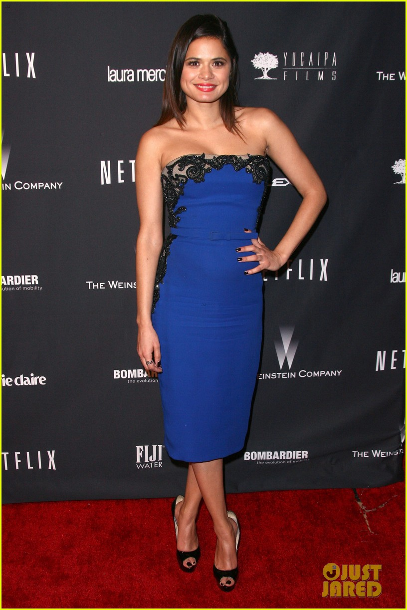 ahna oreilly melonie diaz weinstein golden globes party 2014 163030211
