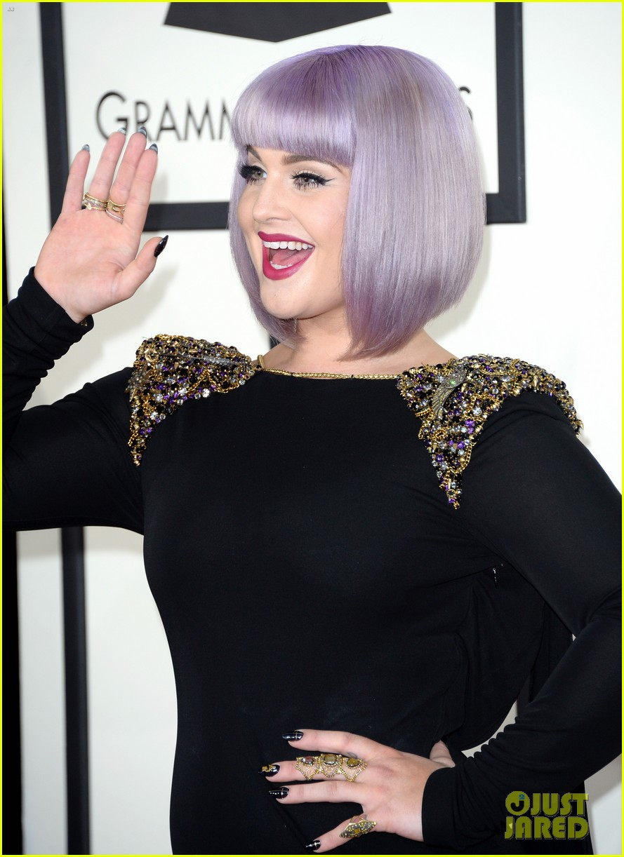 kelly osbourne grammys 2014 red carpet 023040927