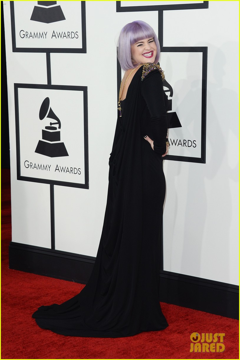 kelly osbourne grammys 2014 red carpet 033040928