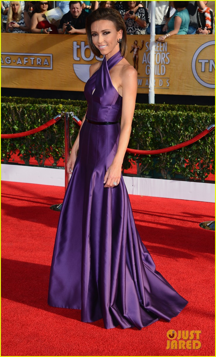kelly osbourne giuliana rancic sag awards 2014 red carpet 033034501