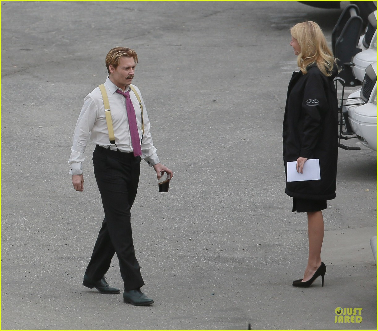 gwyneth paltrow mortdecai scenes with johnny depp 12