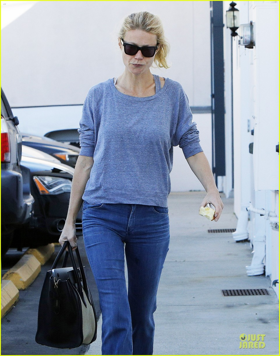 gwyneth paltrow medical building visit after the golden globes 023033847