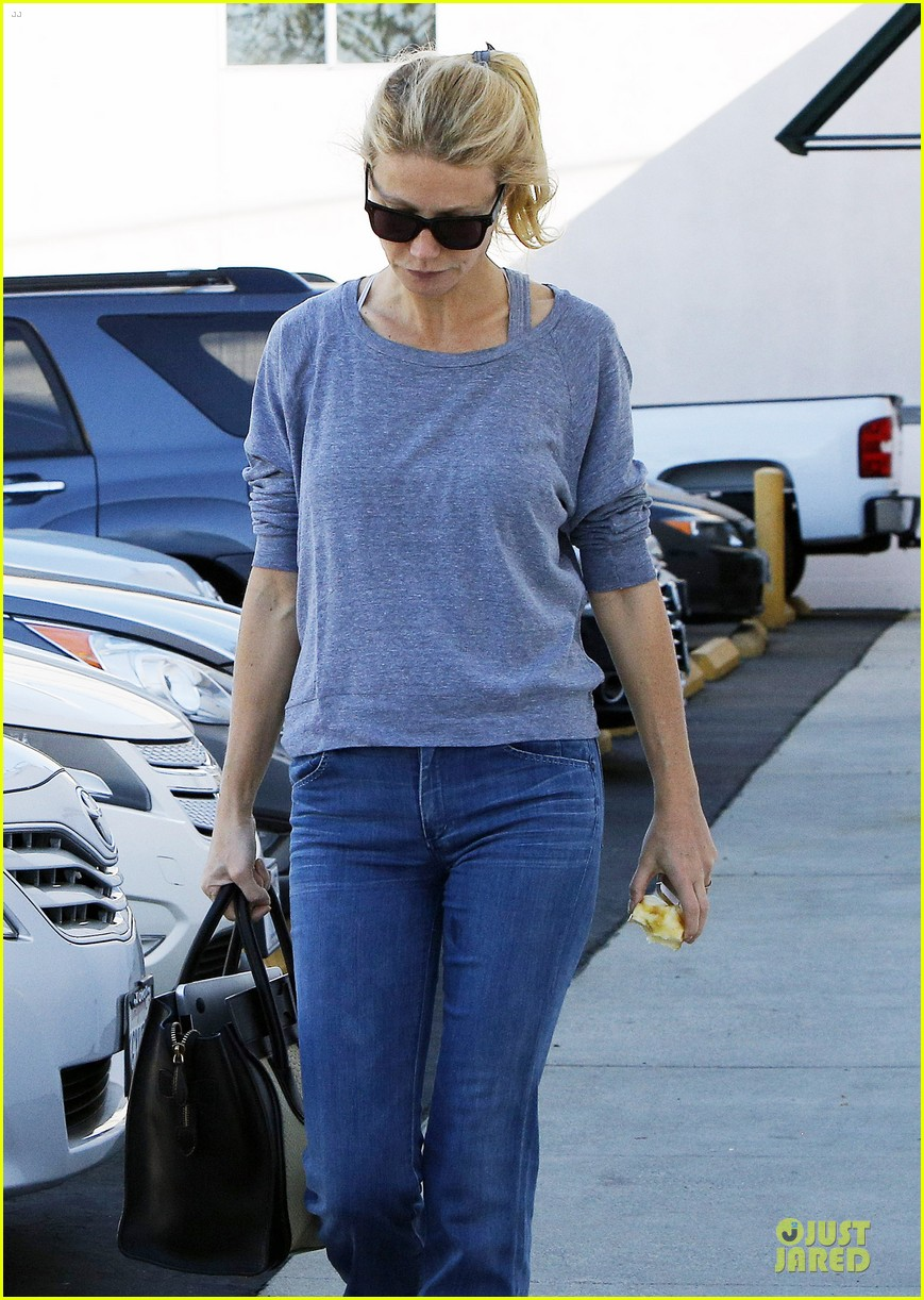 gwyneth paltrow medical building visit after the golden globes 103033855