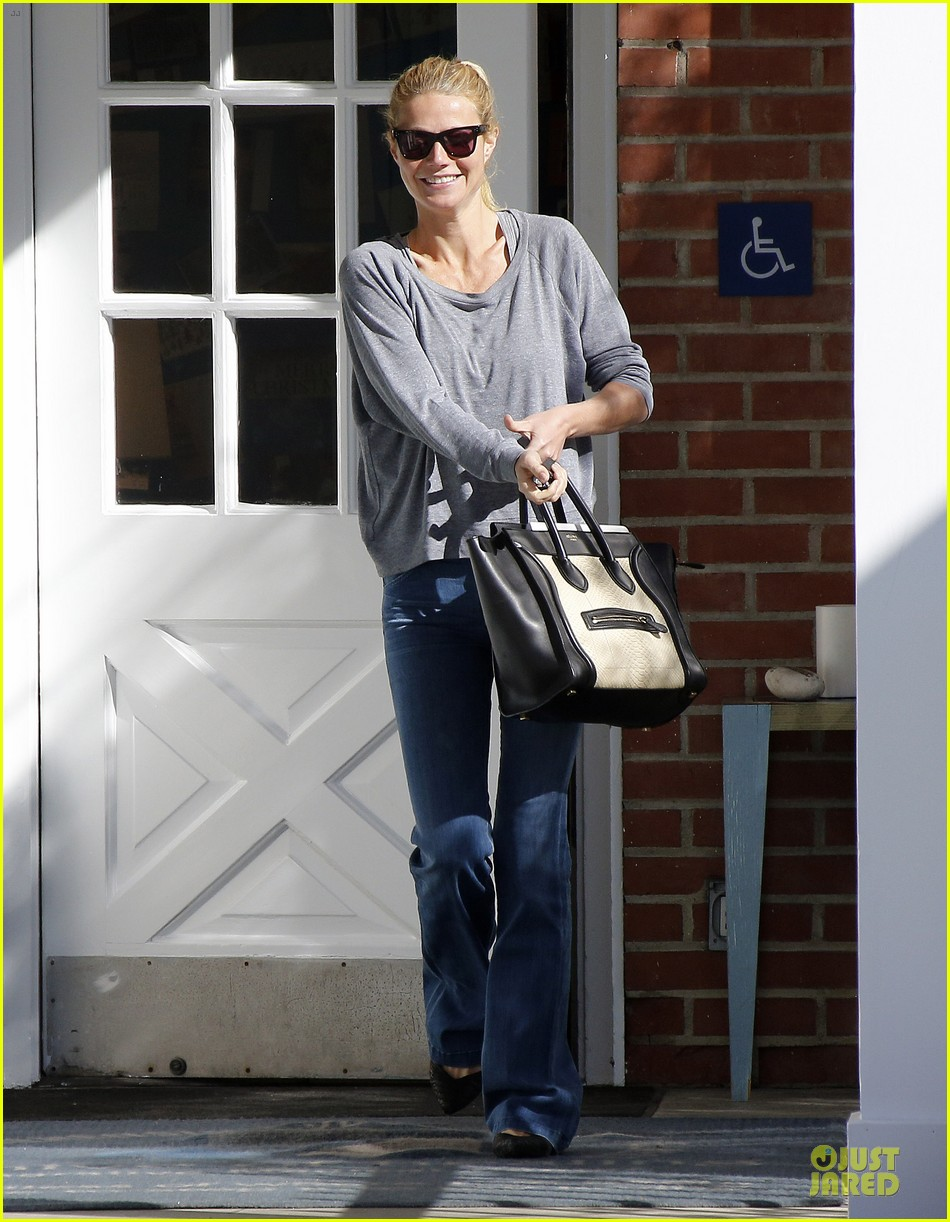 gwyneth paltrow medical building visit after the golden globes 123033857
