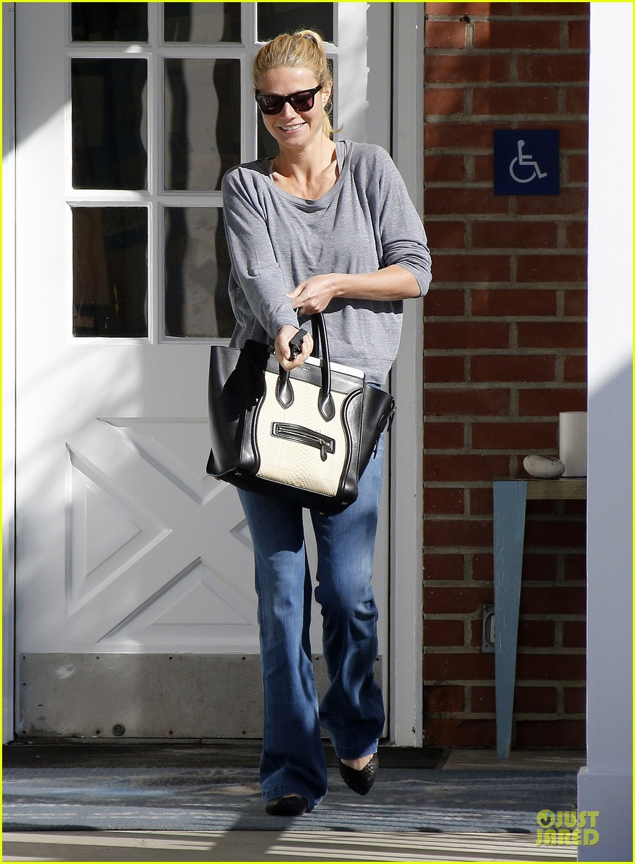 gwyneth paltrow medical building visit after the golden globes 143033859