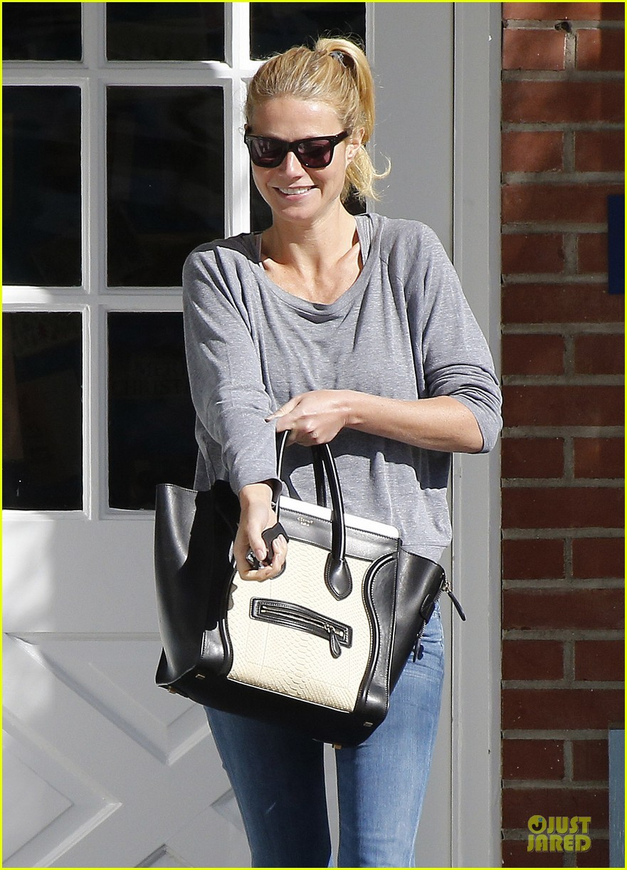gwyneth paltrow medical building visit after the golden globes 153033860
