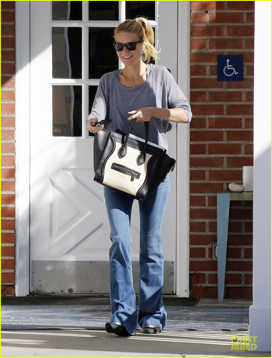 gwyneth paltrow medical building visit after the golden globes 163033861