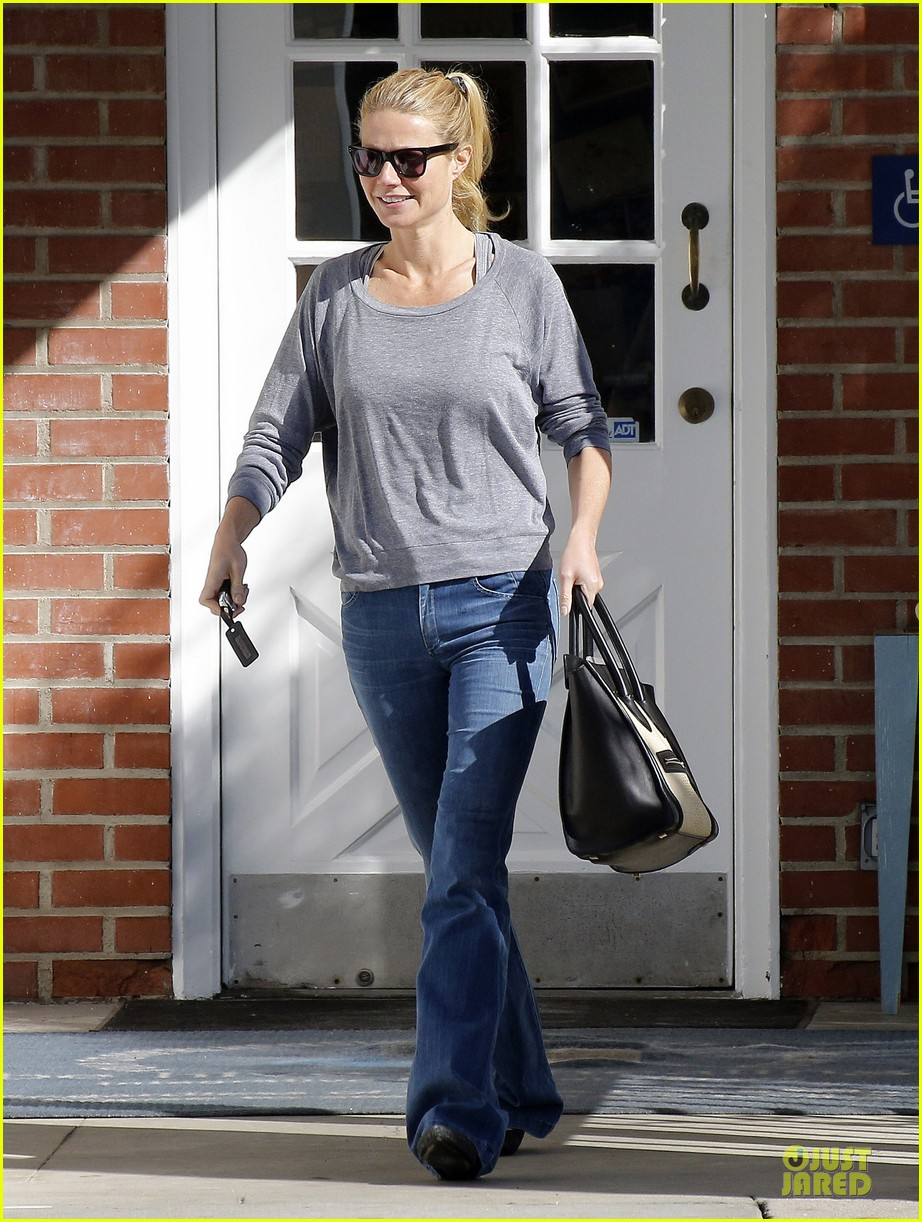 gwyneth paltrow medical building visit after the golden globes 173033862