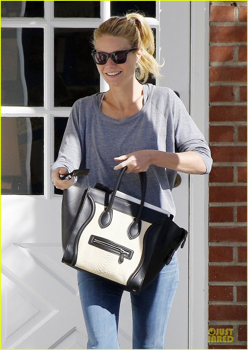 gwyneth paltrow medical building visit after the golden globes 233033868