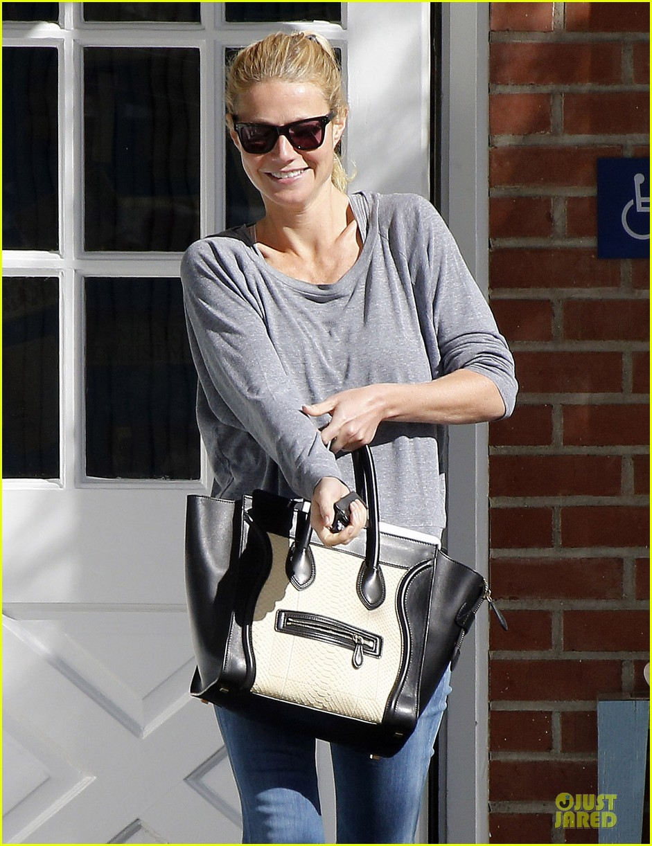 gwyneth paltrow medical building visit after the golden globes 243033869