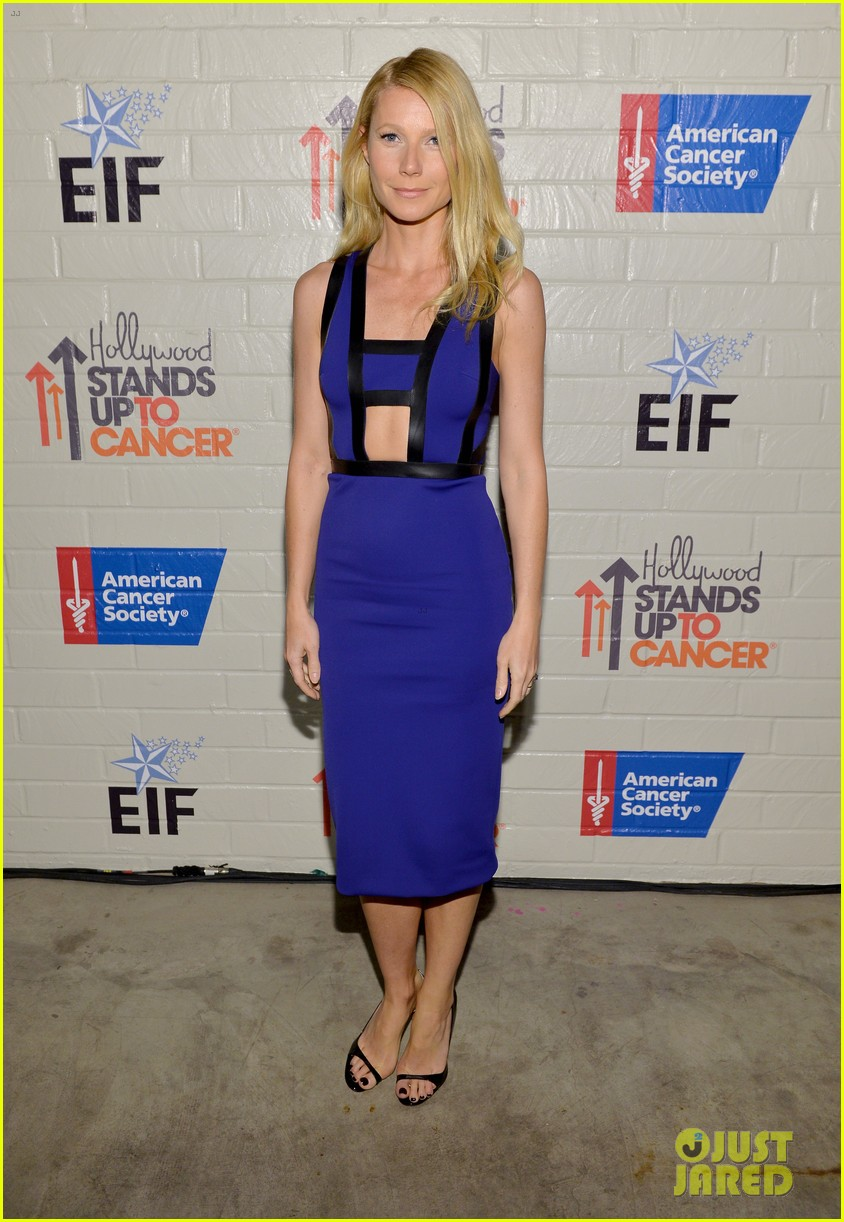 gwyneth paltrow rocks cut out dress to stand up to cancer 033043195