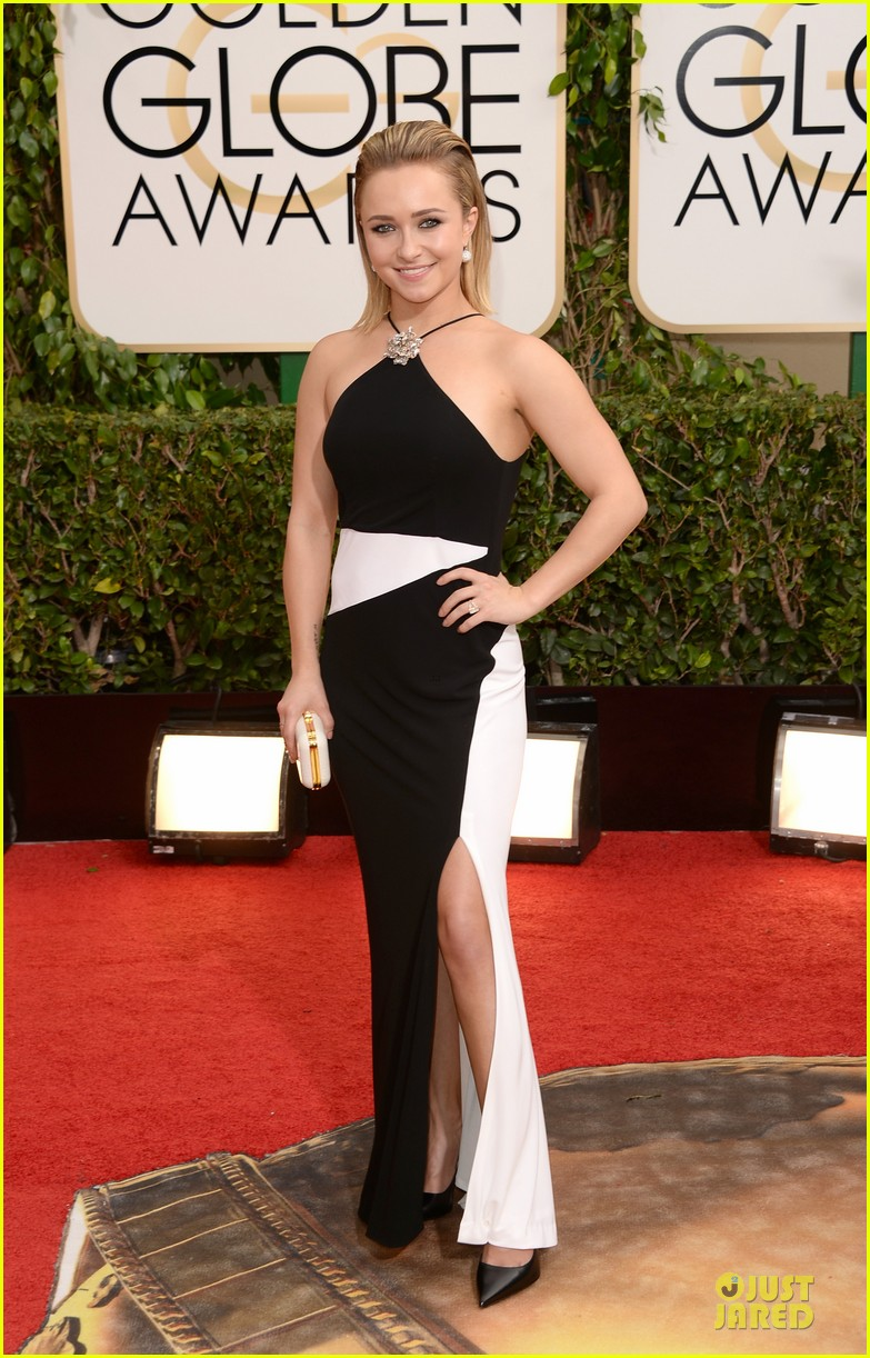 hayden panettiere golden globes 2014 red carpet 033029234