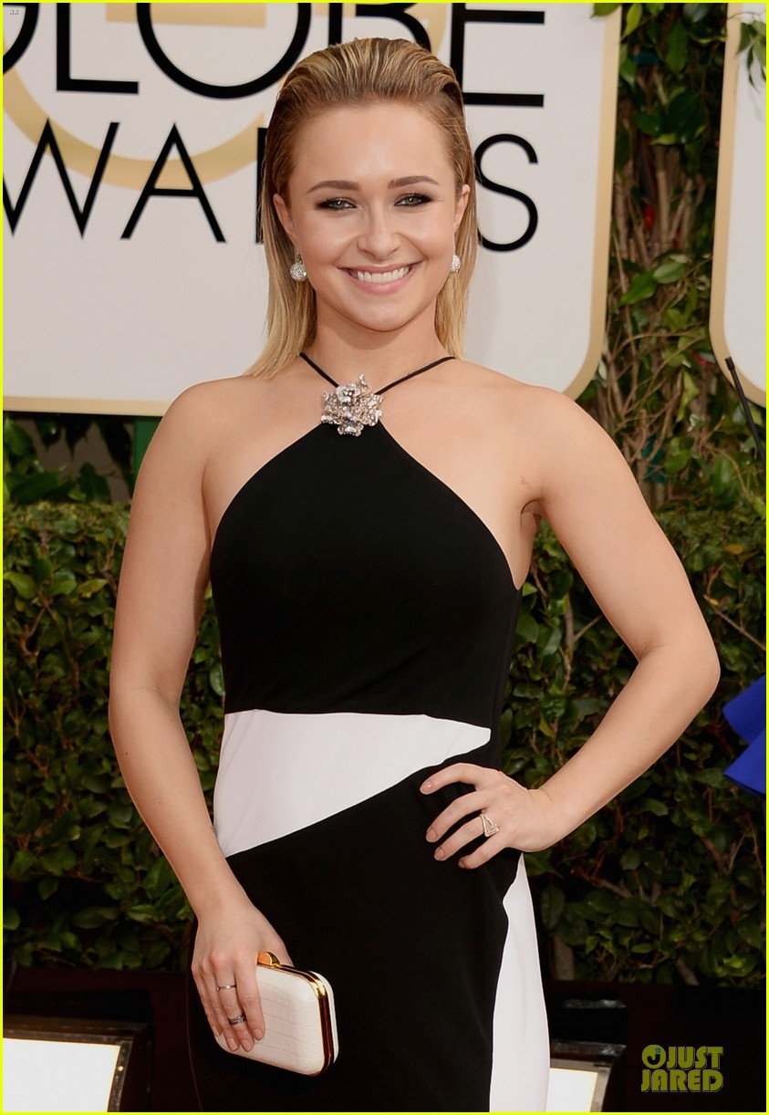 hayden panettiere golden globes 2014 red carpet 063029237