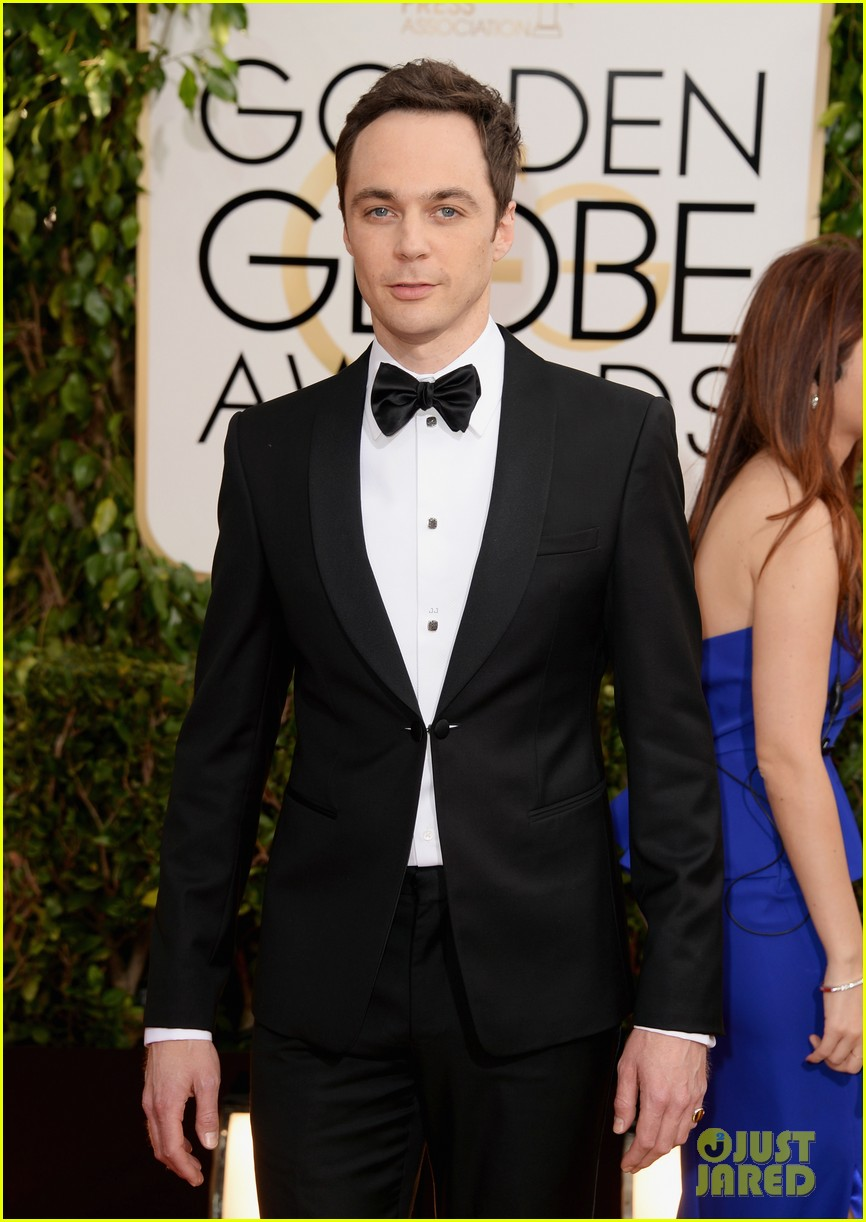 jim parsons mark ruffalo golden globes 2014 red carpet 03