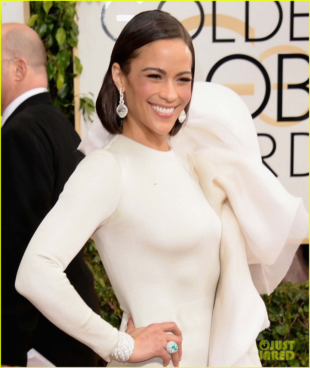 paula patton golden globes 2014 red carpet 04