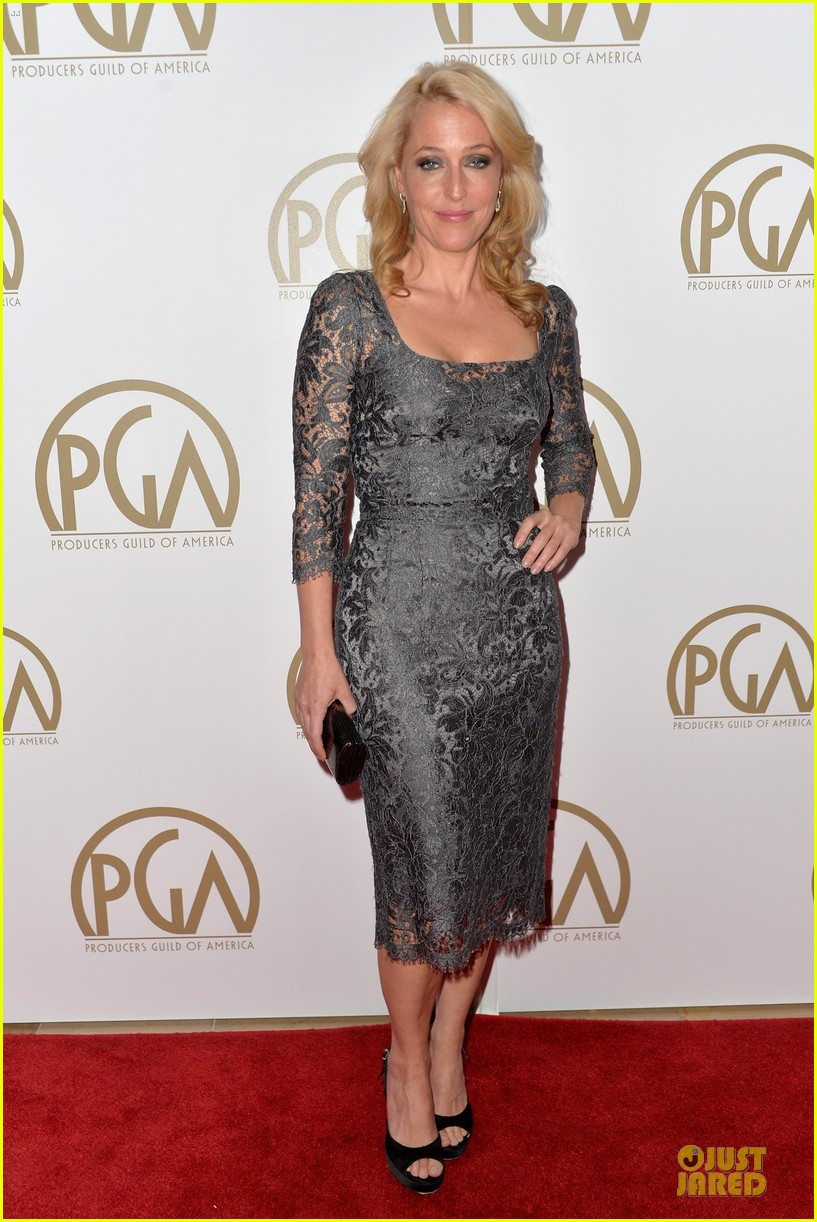 sarah paulson gillian anderson producers guild awards 2014 033035932