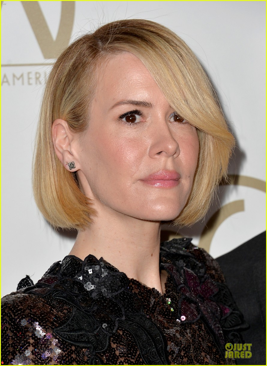 sarah paulson gillian anderson producers guild awards 2014 163035945