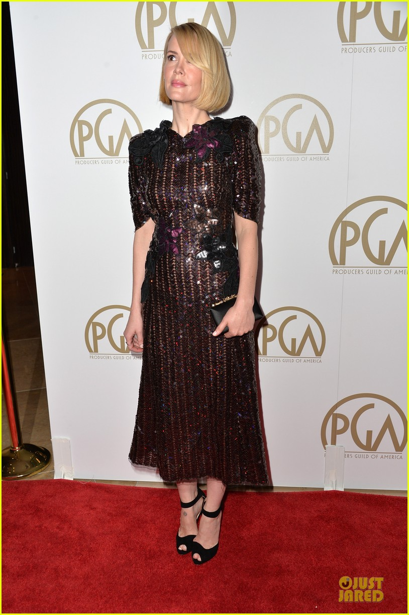 sarah paulson gillian anderson producers guild awards 2014 193035948