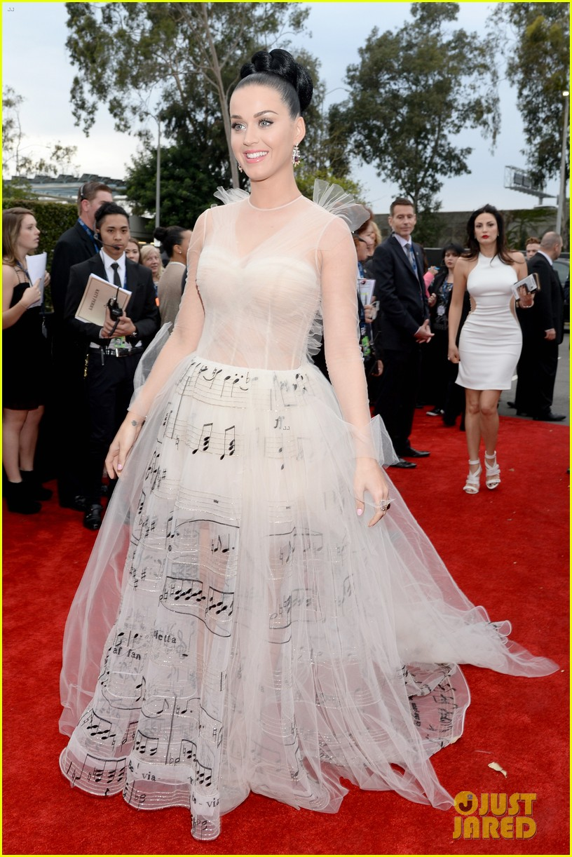 katy perry grammys 2014 red carpet 053041044