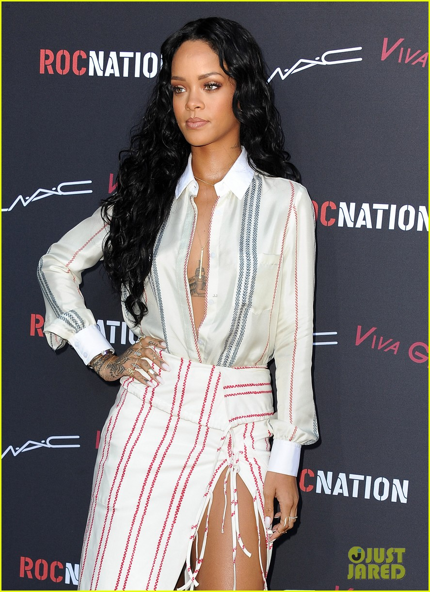 katy perry rihanna support grimes at pre grammys event 073040253