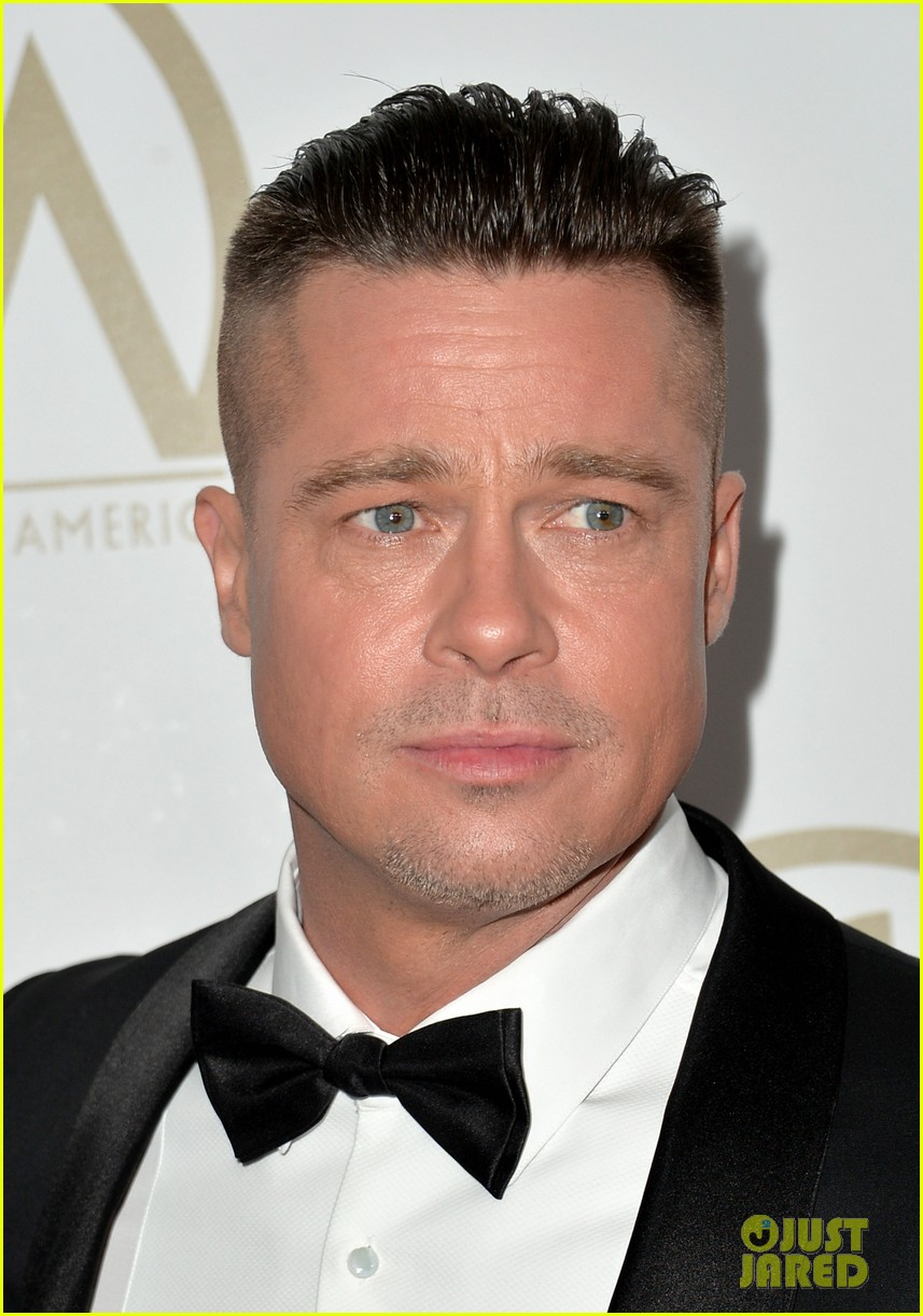brad pitt producers guild awards 2014 with chiwetel ejiofor 093035872