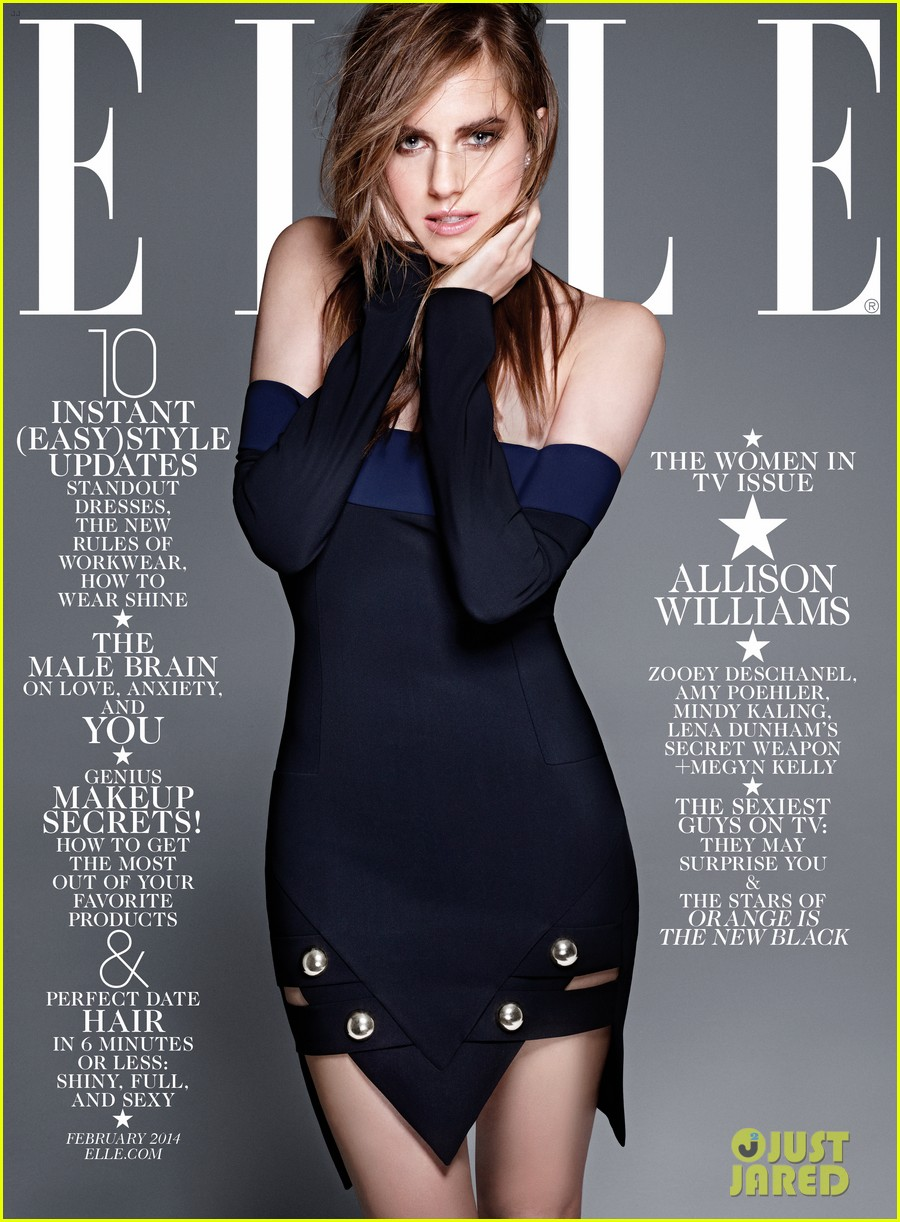 amy poehler mindy kaling more cover elle tv issue 013023670