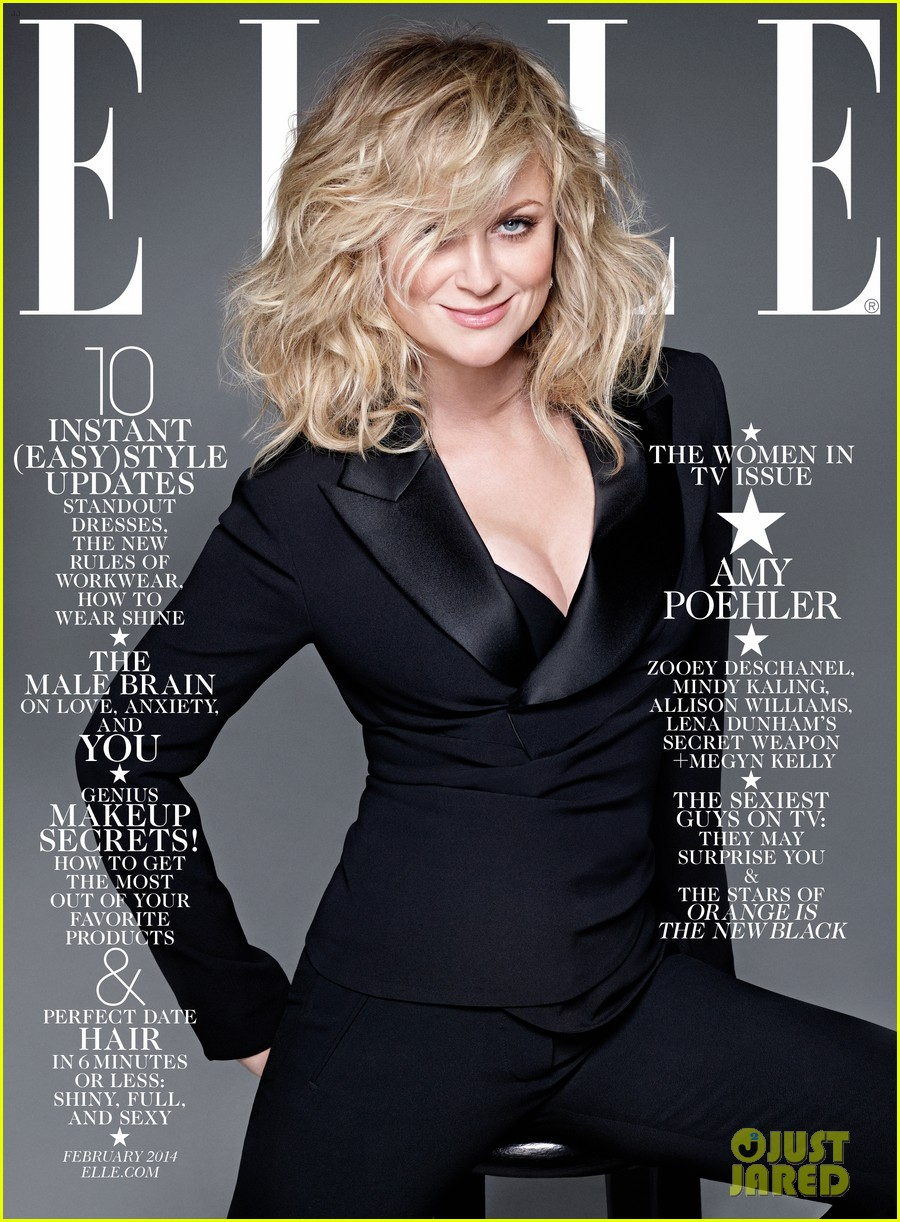 amy poehler mindy kaling more cover elle tv issue 023023671