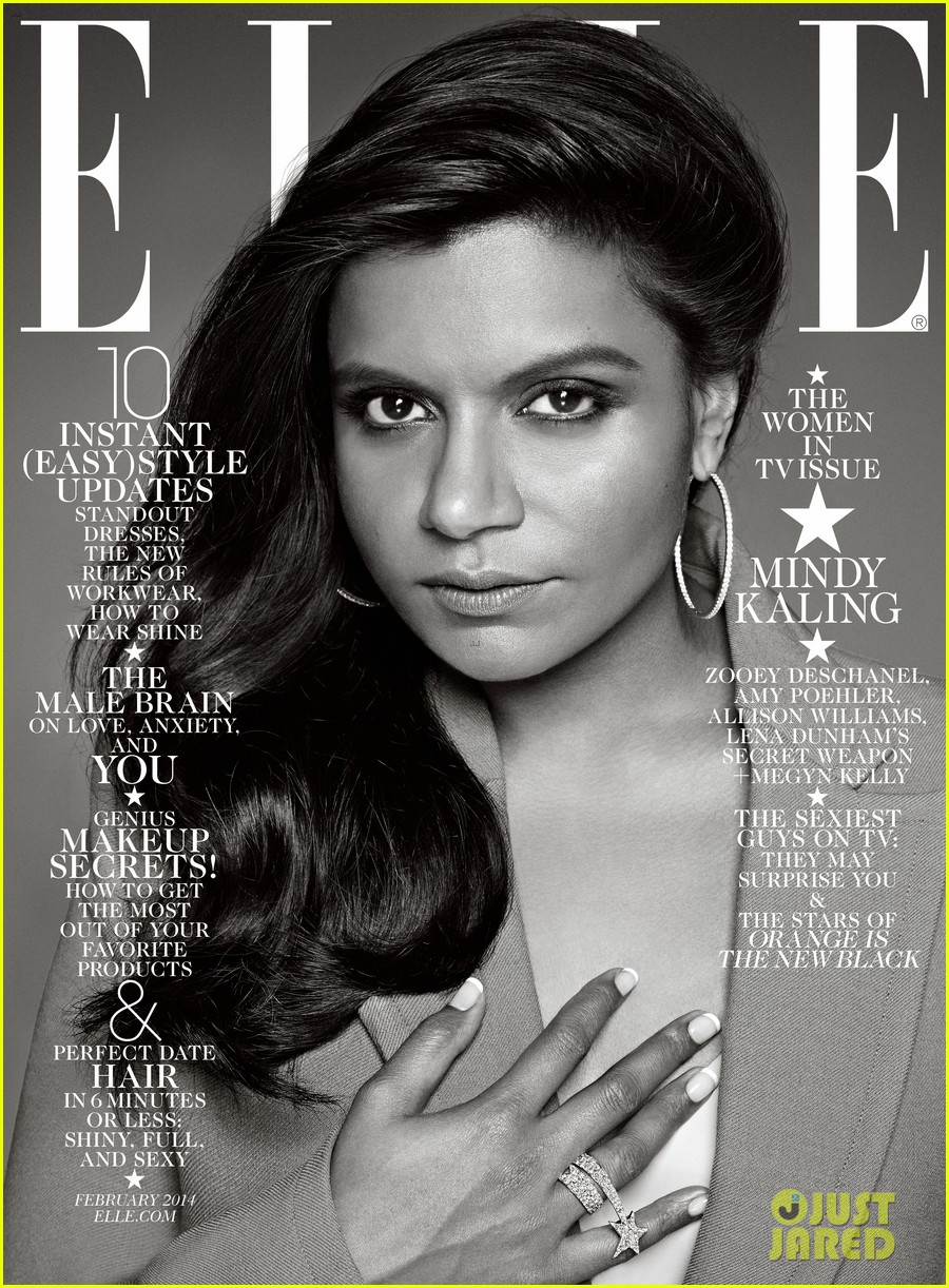 amy poehler mindy kaling more cover elle tv issue 033023672