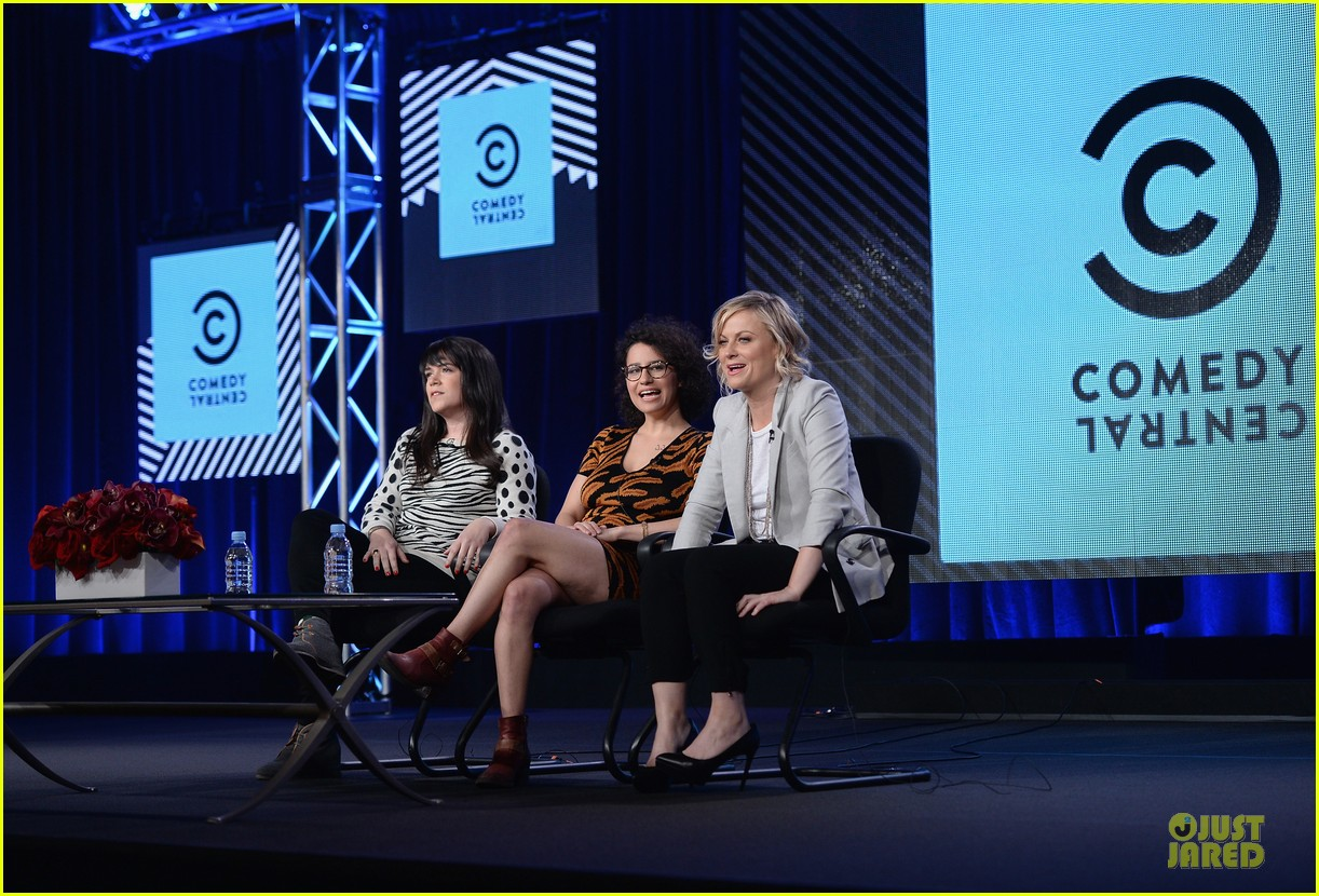 amy poehler comedy central tca winter tour panel 013027455