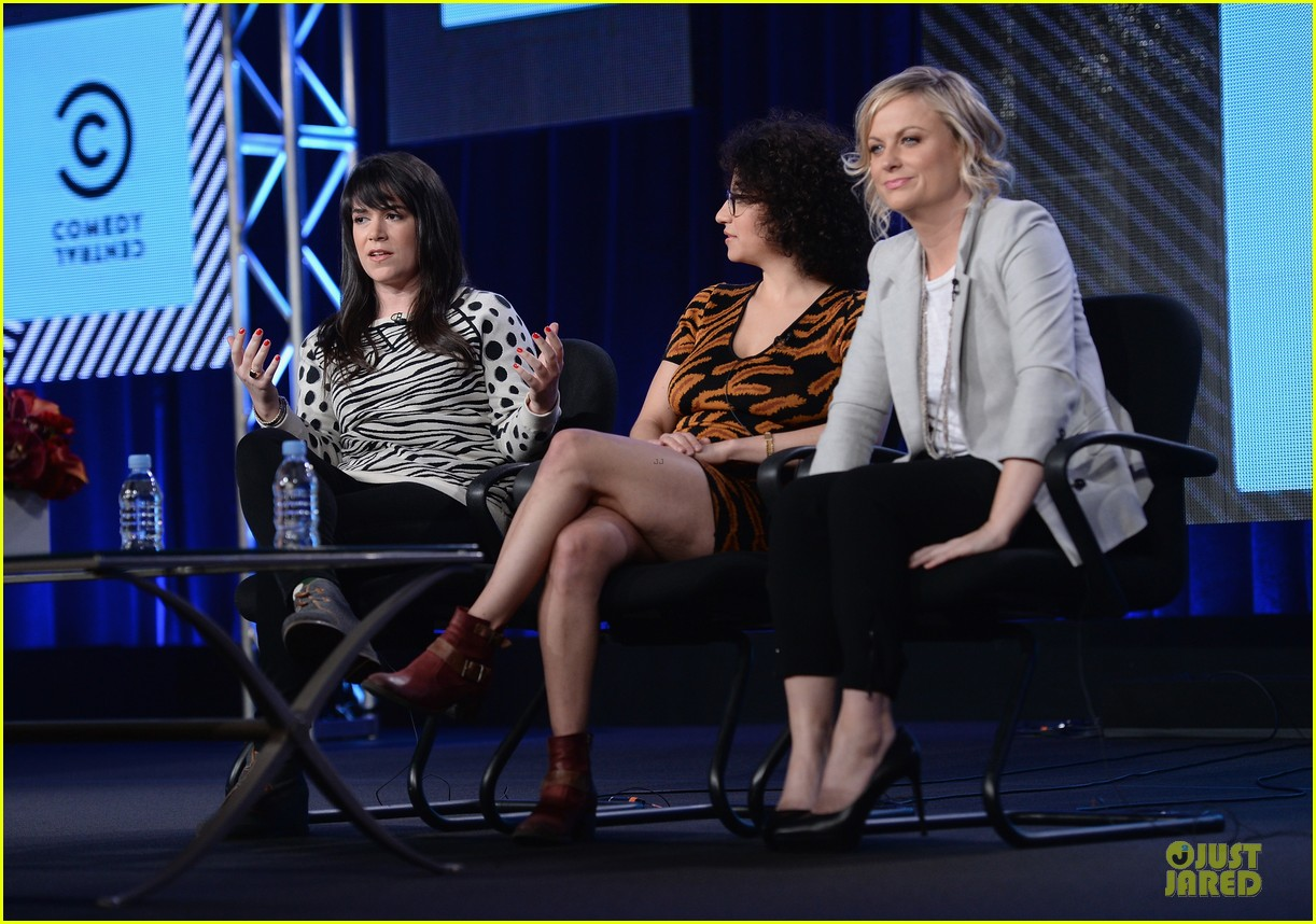 amy poehler comedy central tca winter tour panel 123027466