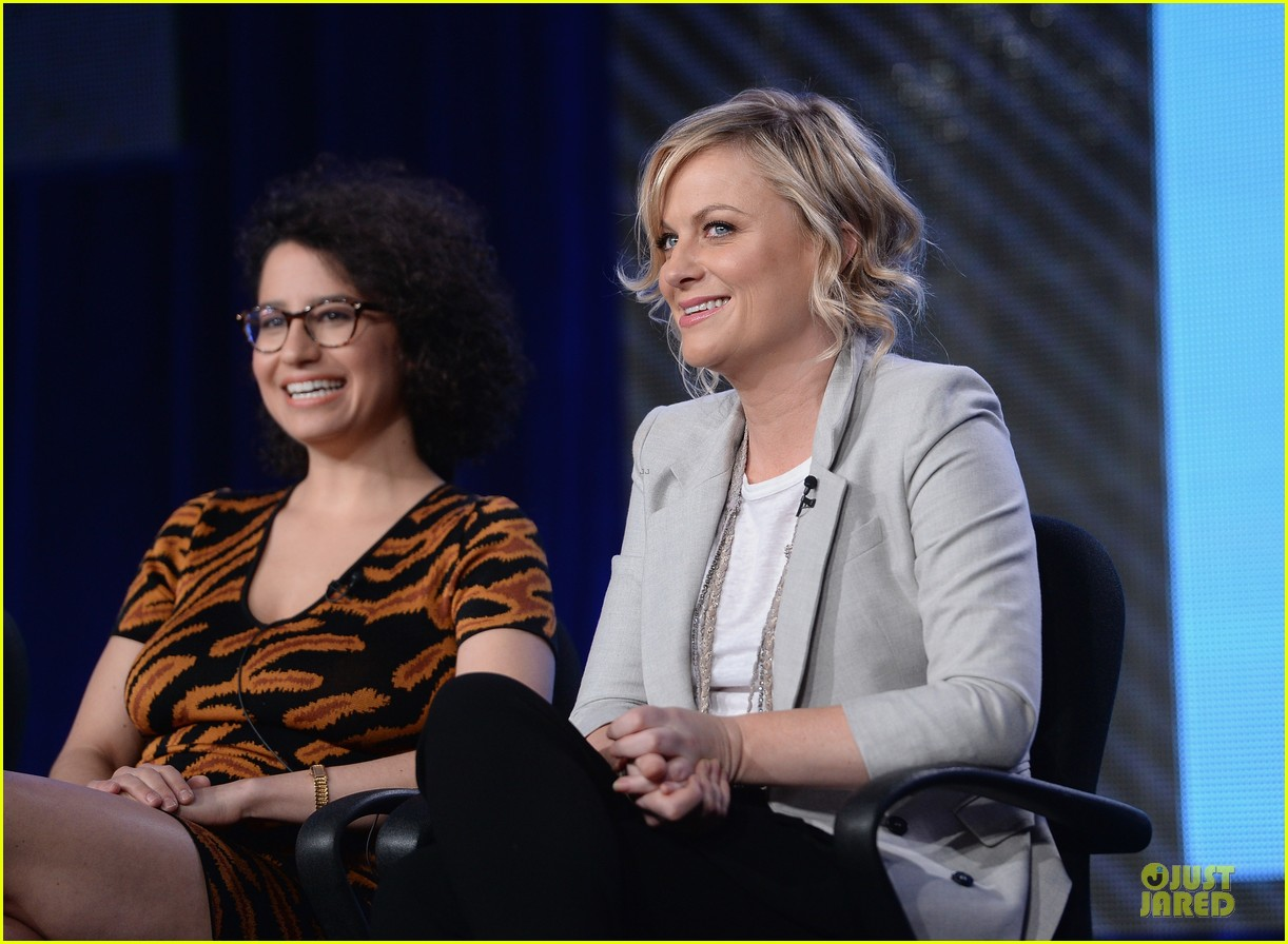 amy poehler comedy central tca winter tour panel 133027467