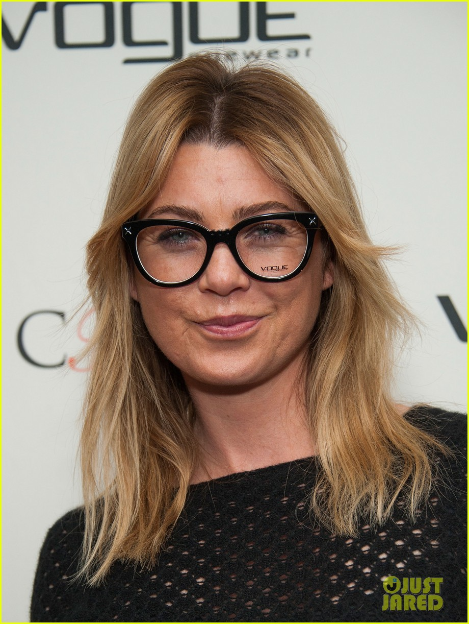 ellen pompeo vogue eyewear event 023031944