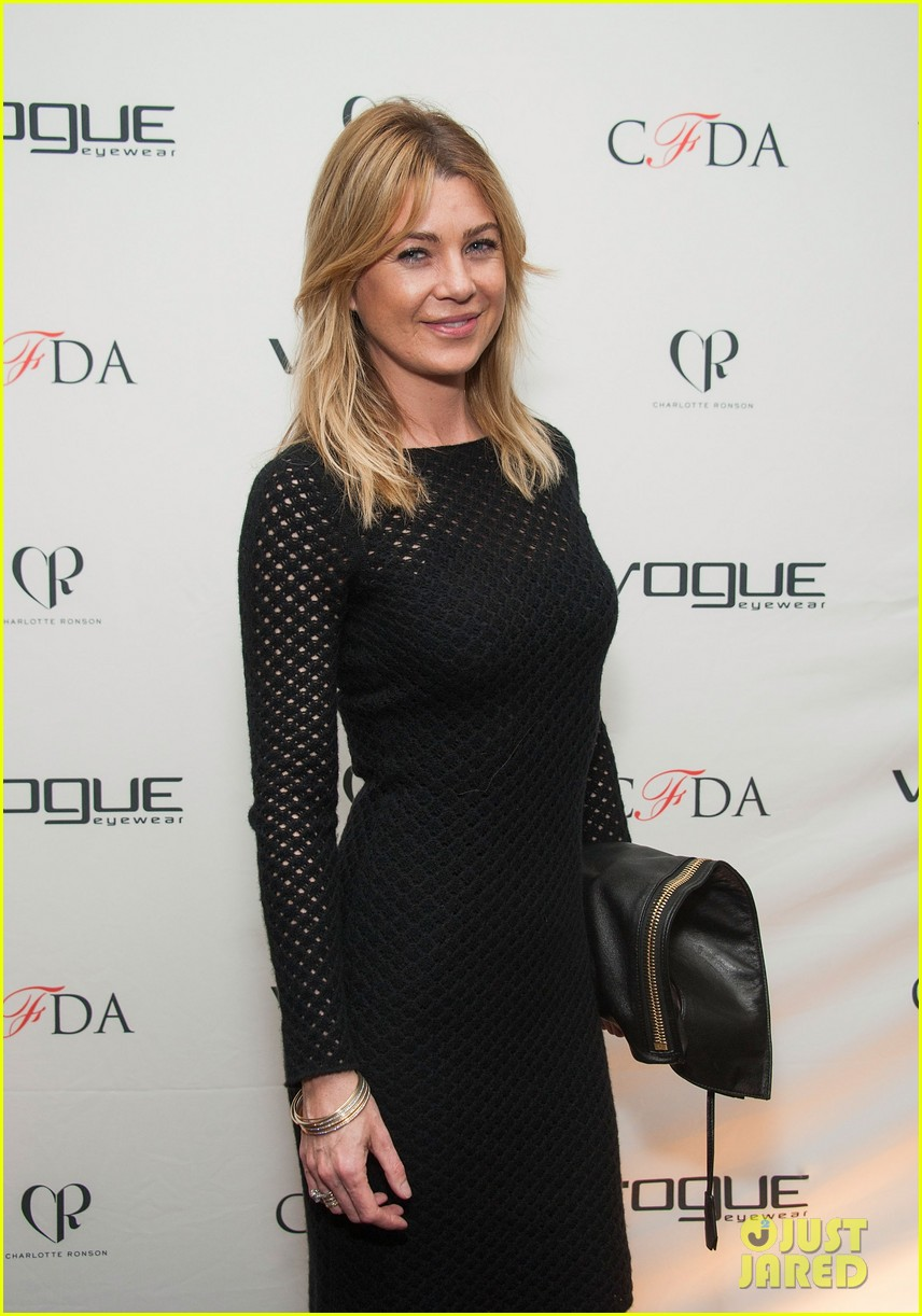 ellen pompeo vogue eyewear event 123031954