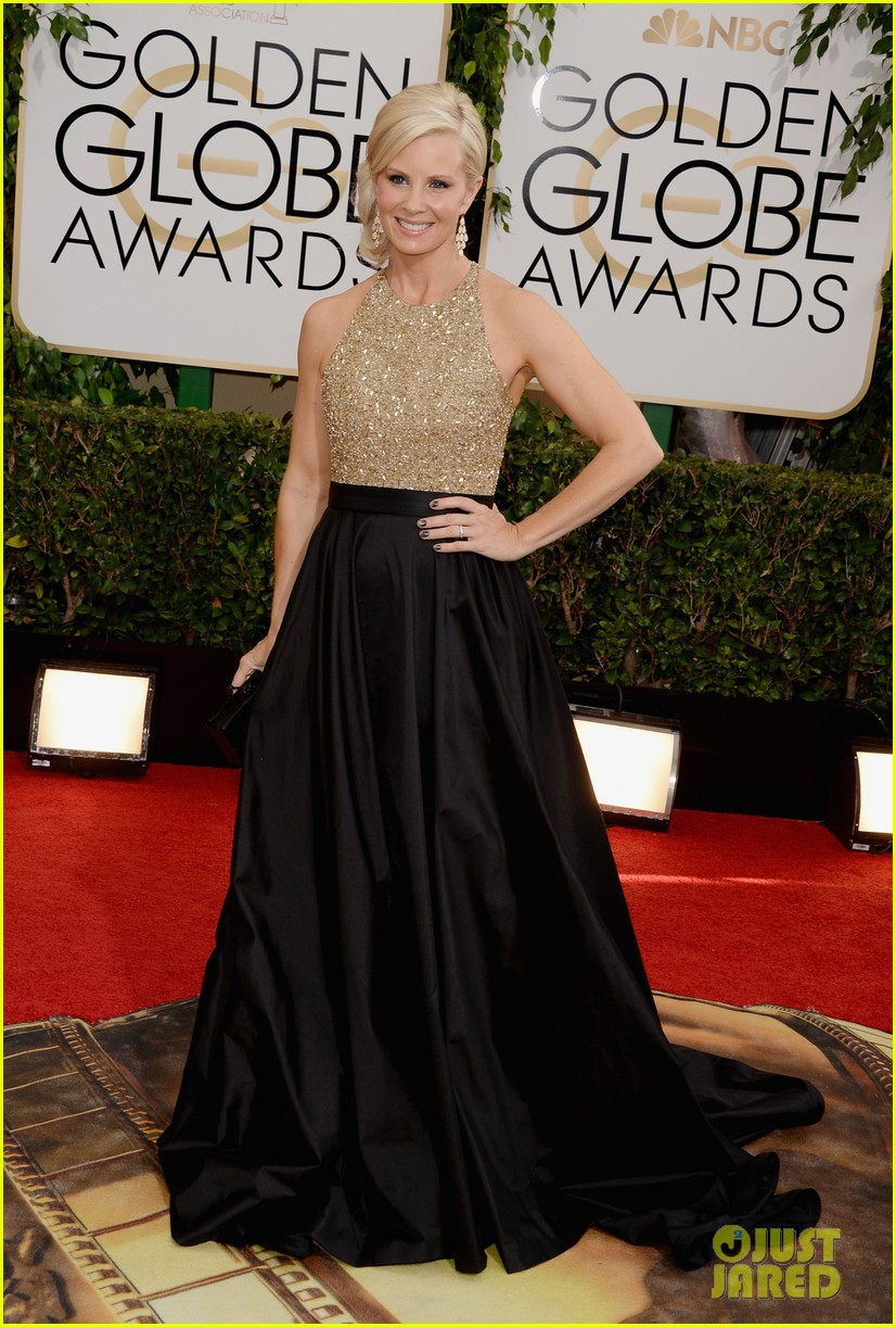 monica potter golden globes 2014 red carpet 05