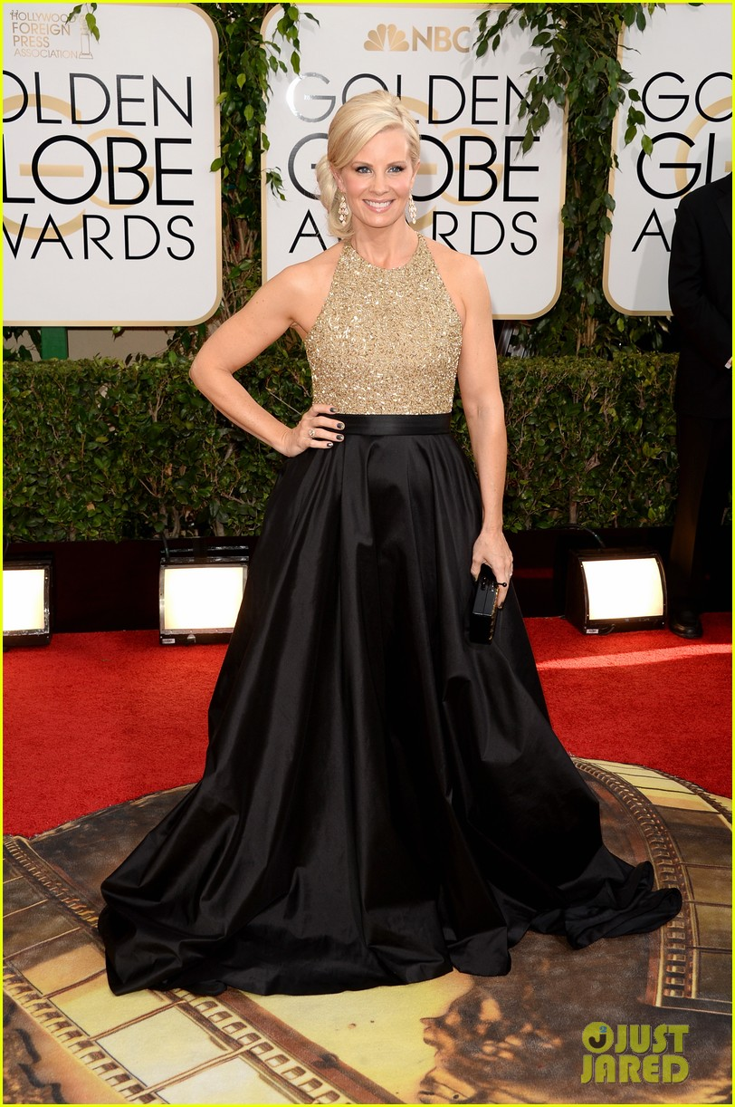 monica potter golden globes 2014 red carpet 073029073