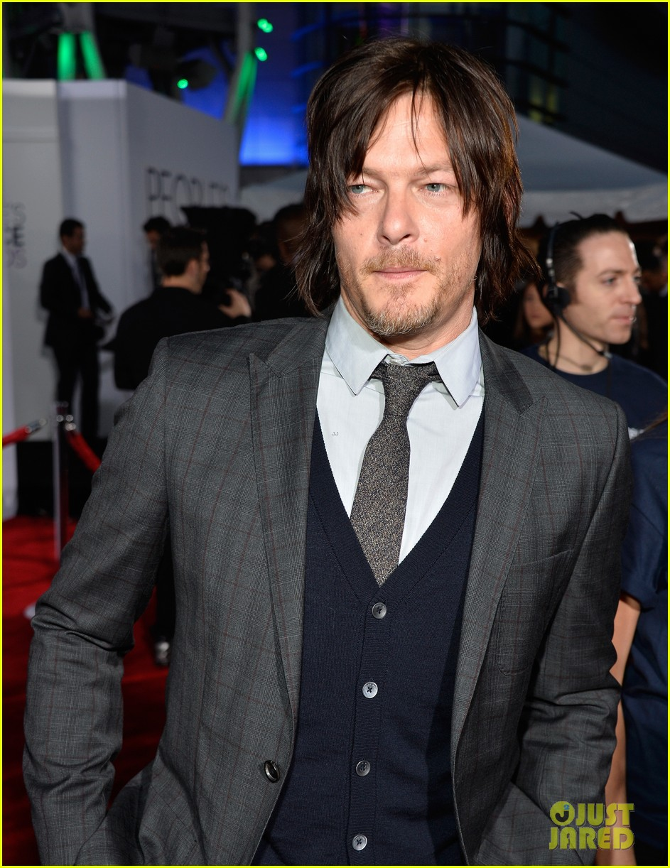 norman reedus peoples choice awards 2014 presenter 053025832