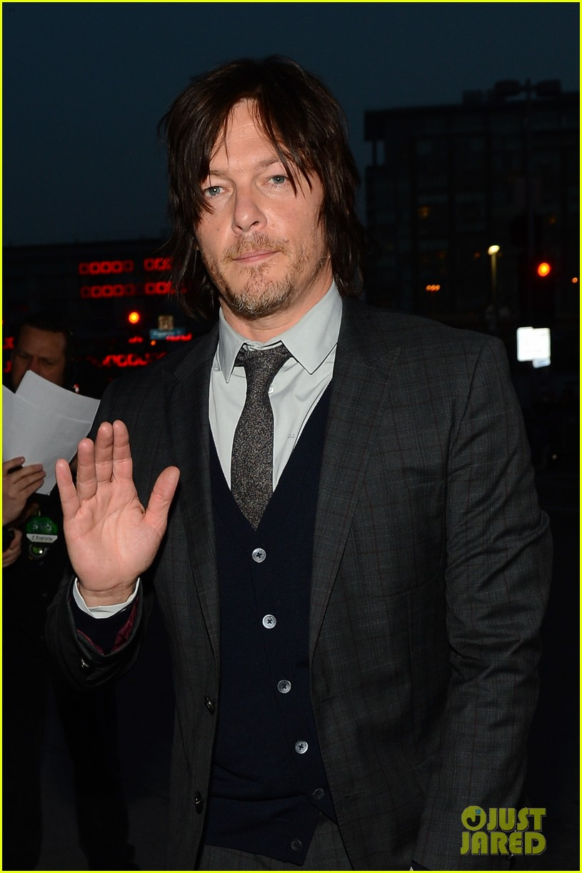 norman reedus peoples choice awards 2014 presenter 063025833