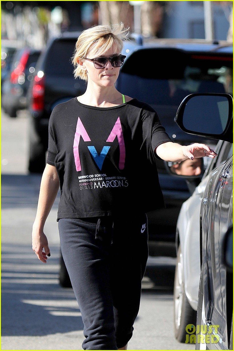 reese witherspoon busy saturday with son deacon 063035535