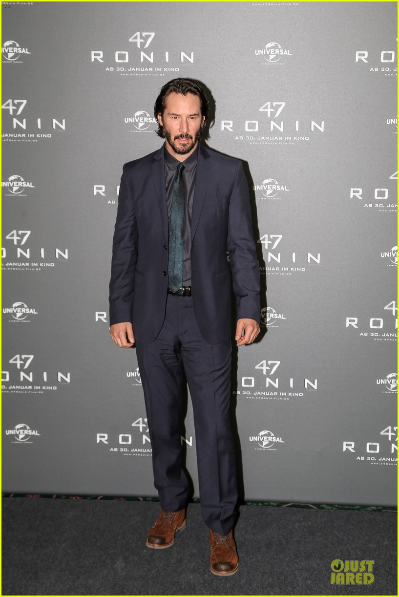 keanu reeves 47 ronin munich photo call 013034341