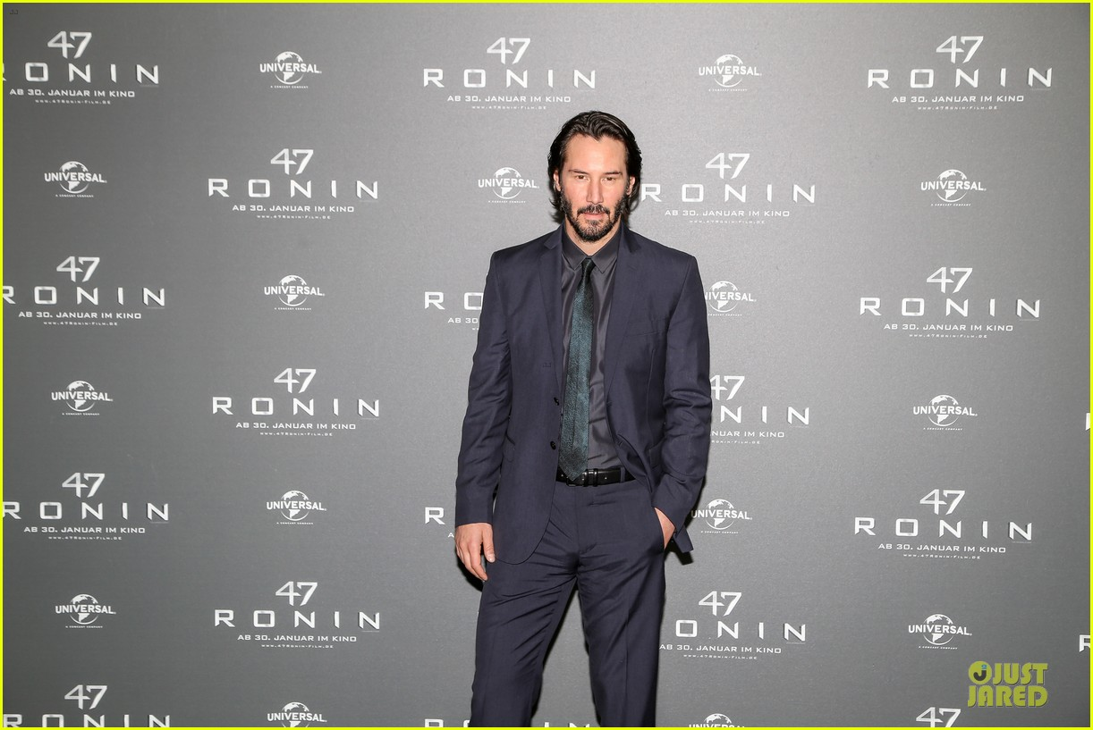 keanu reeves 47 ronin munich photo call 053034345