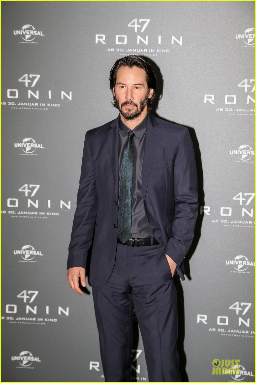 keanu reeves 47 ronin munich photo call 183034358
