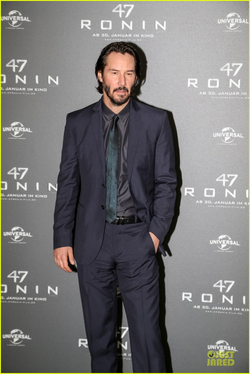 keanu reeves 47 ronin munich photo call 193034359