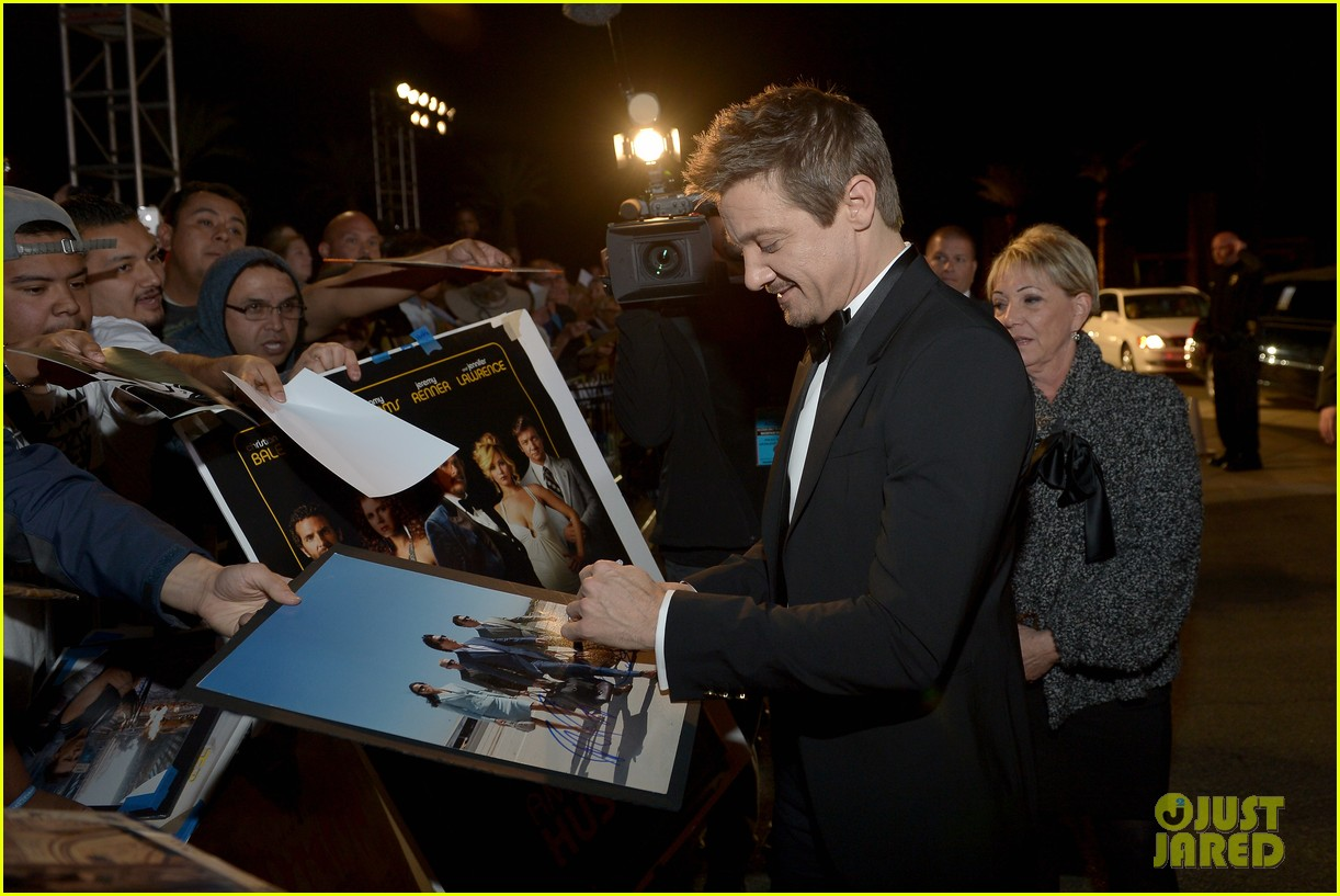jeremy renner elisabeth rohm palm springs film festival awards gala 2014 12