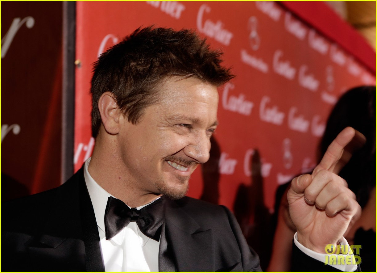 jeremy renner elisabeth rohm palm springs film festival awards gala 2014 143022824
