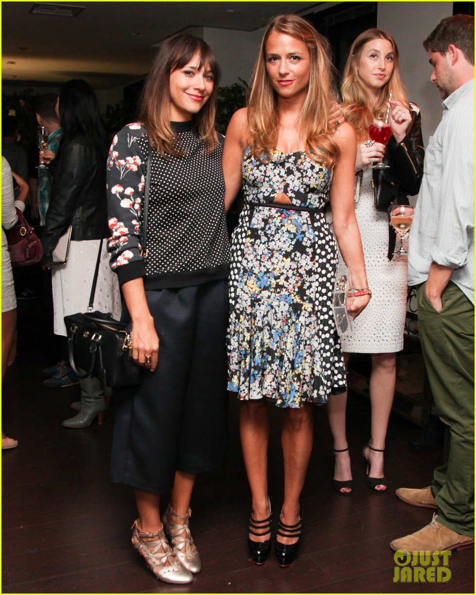 nicole richie rashida jones charlotte ronsons vogue eyewear launch party 033032016