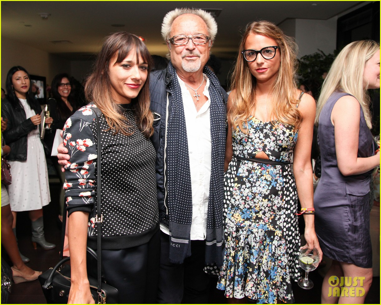 nicole richie rashida jones charlotte ronsons vogue eyewear launch party 113032023